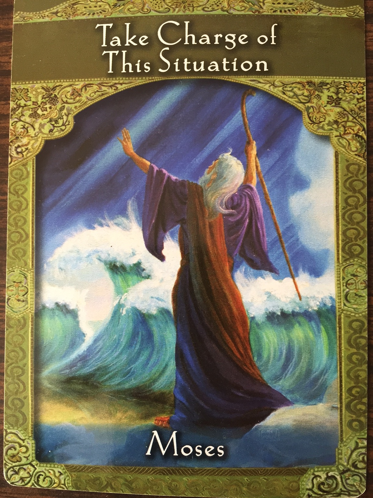 Moses-Ascended Mater Card by Doreen Virtue